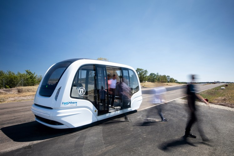 Together for networked transport concepts: ZF is a new partner of Mobility as a Service Alliance